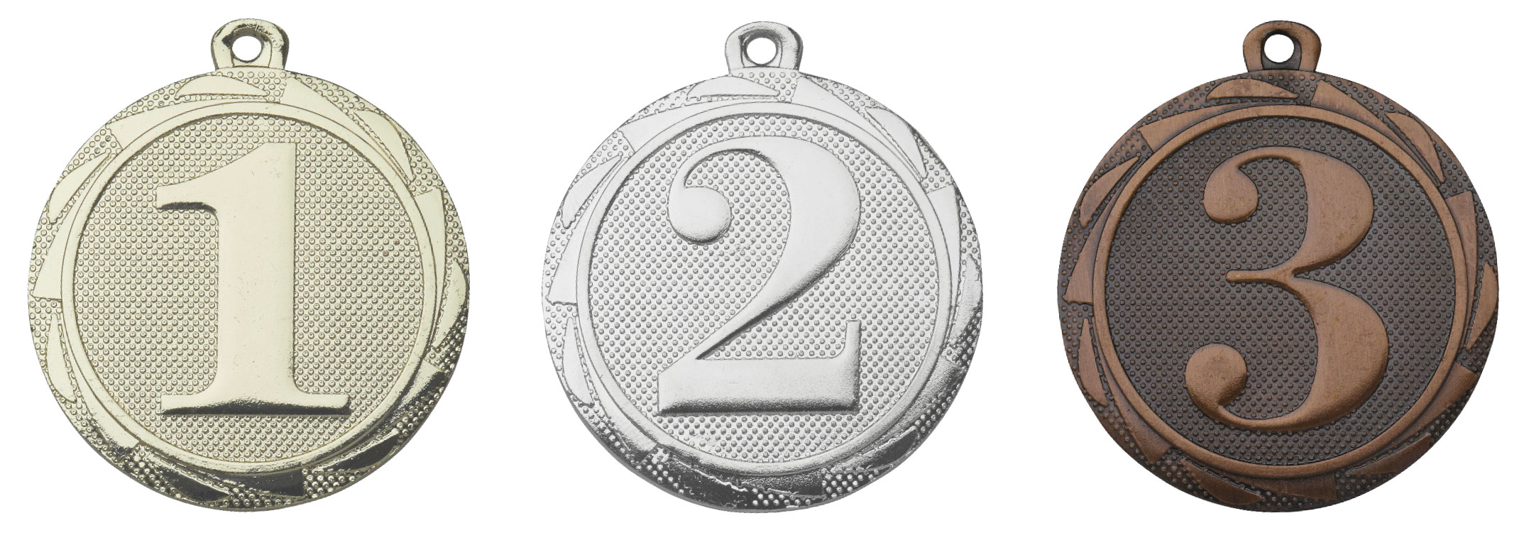 E3013   Medaille 2e plaats   3 - 5 cm medailles  Prijzenshop.nl
